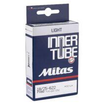 Mitas LIGHT tube országúti belső 700×23/28 FV80 presta szelep