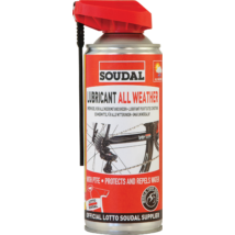 SOUDAL All Weather Lubricant - Négy évszakos Kenőolaj Spray 400 ml