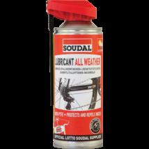 SOUDAL All Weather Lubricant - Négy évszakos Kenőolaj Spray 400 ml