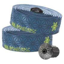 SUPACAZ SUPER STICKY KUSH  kormány betekerő Neon Yellow Print/Slate Blue