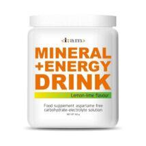 I:AM MINERAL + ENERGY DRINK citrom-lime ízű italpor 800g