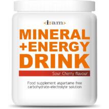 I:AM MINERAL + ENERGY DRINK meggy ízű italpor 800g