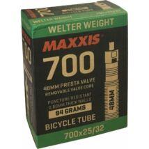 Maxxis 700x23/32C WelterWeight Preszta szelepes/48mm országúti belső