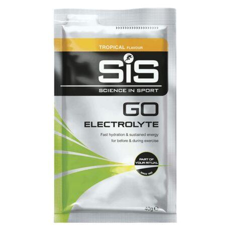 SiS GO Elektrolit italpor - 40g - Trópusi gyümölcs