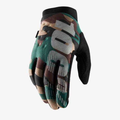 100percent Brisker gloves-meleg kerékpáros kesztyű