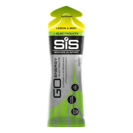 SiS GO Elektrolitos energiagél - 60ml - Citrom & Menta