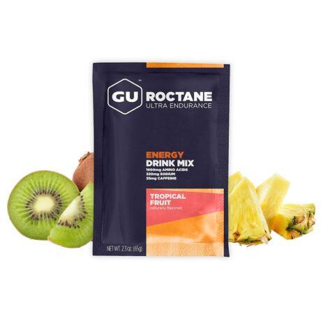 GU ROCTANE ENERGY DRINK MIX trópusi gyümölcs ízű koffeinmentes energiaital