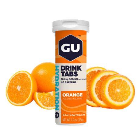 GU HYDRATION DRINK pezsgõtabletta 12 db narancs ízű