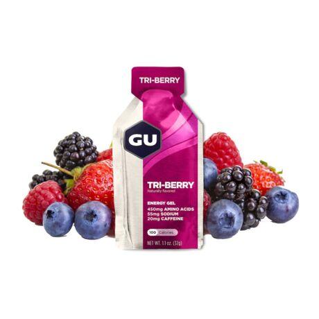 GU energy gel erdei gyümölcs/Tri-berry