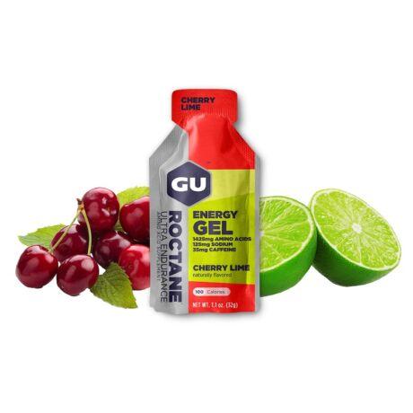 GU Roctane energy gel cseresznye-lime / Cherry-Lime