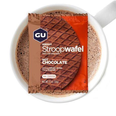 GU ENERGY STROOPWAFFEL forró csokoládé ízû energia szelet