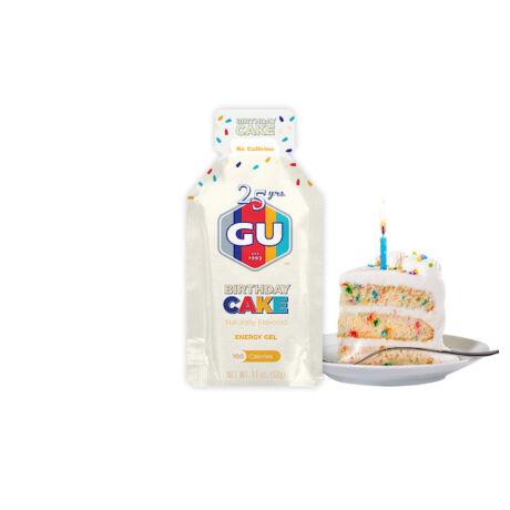 GU ENERGY GEL születésnapi torta ízû energia gél