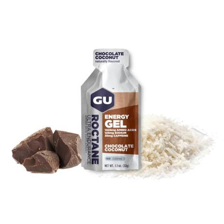 GU Roctane energy gel csokoládé-kókusz / Chocolate-coconut