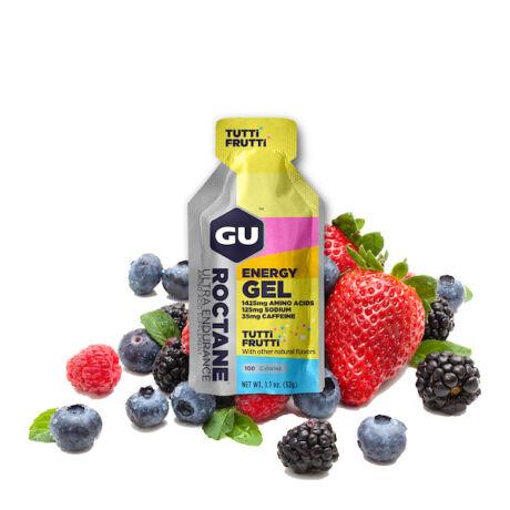 GU Roctane energy gel Tutti Frutti