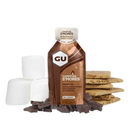 GU energy gel tábortűz édesség/campfire s'mores