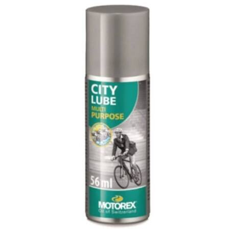 MOTOREX CITY LUBE SPRAY - Kerékpár láncolaj minden időjárásra 56 ml