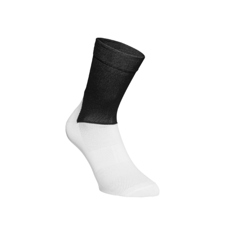 POC Essential Road Socks Uranium Black/Hydrogen White