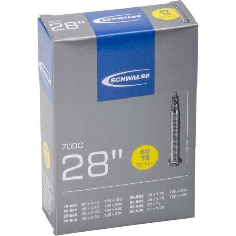 Schwalbe országúti belső 622 SVL15 18/28-622/630-60 mm presta szelep