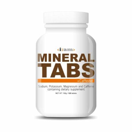I:AM MINERAL TABS+CAFFEINE koffein tartalmú sótabletta 120 db