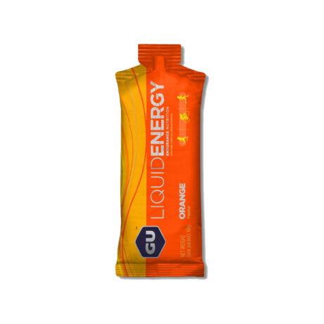 GU liquid energy gel narancs 20mg koffeinnel